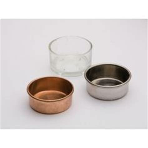 Tea Light Inserts by Metal Tea Light Holder Inserts Without For Wine Glasses Wine Etc Jars