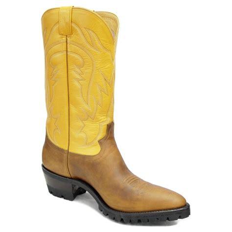 Handcrafted Work Boots - cowboy boots buckaroo work boots caboots custom