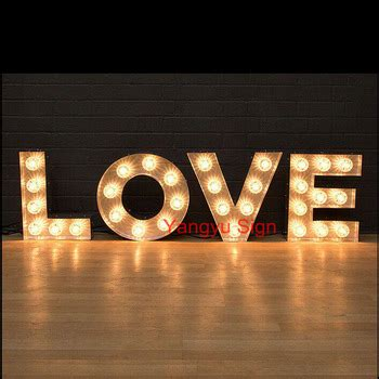 light up letters to buy led light up marquee letters for wedding decoration