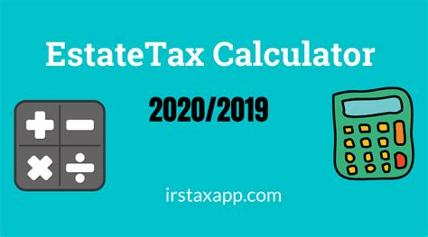 estate tax calculator internal revenue code simplified