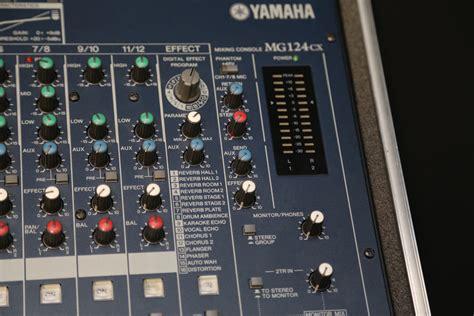Terbaru Mixer Yamaha Mg124cx yamaha mg124cx image 962957 audiofanzine