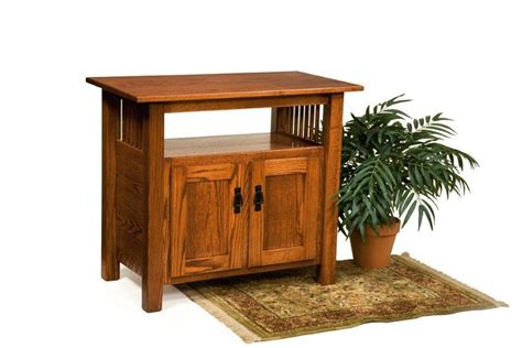 Stand Furniture American Mission Tv Stand From Dutchcrafters Amish Furniture