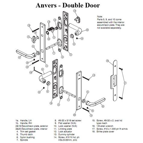 door knob diagram door lock parts diagram home door lock parts diagram