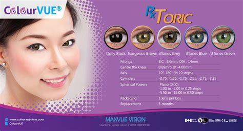 Softlens Colourvue Big Dolly Black colourvue color toric for astigmatism contact lens my contactlens