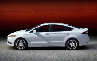2013 Ford Fusion Se Side 2013 Ford Fusion White Left Side View Photo 36164182