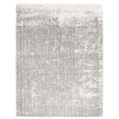 White Silk Rug by Lanart Silk Reflections White 9 Ft X 12 Ft Area Rug Silkre912w The Home Depot