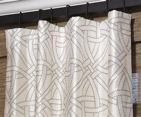 drapery pleat types drapery pleat styles