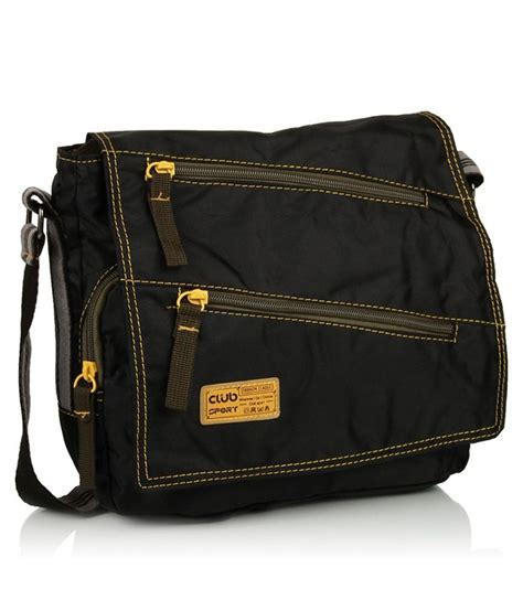 Sling Bag Club Bola buy club sport black sling bags at best prices in india snapdeal
