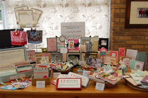 Papercraft Fairs - craft fair table layout by paper is bliss at