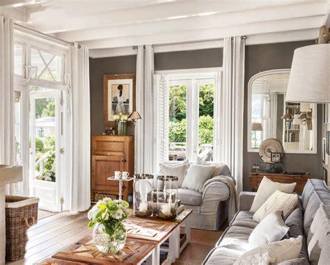 decorar paredes gris claro salones con toques en gris