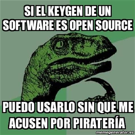 Jacebrowning Memegen The Open Source Meme Generator By - meme filosoraptor si el keygen de un software es open