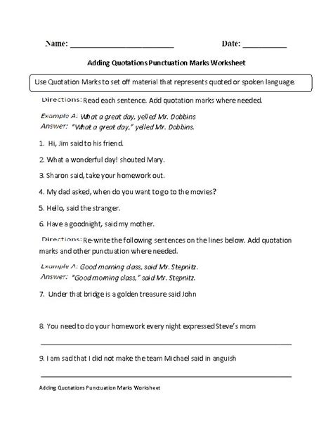 High School Punctuation Worksheets by High School Punctuation Worksheets Worksheets
