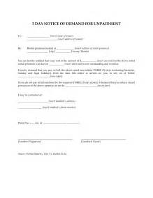 3 Day Eviction Notice Template by Best Photos Of Demand Notice Template Payment