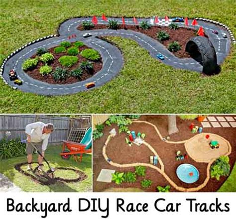 backyard cing backyard diy race car tracks lil moo creations