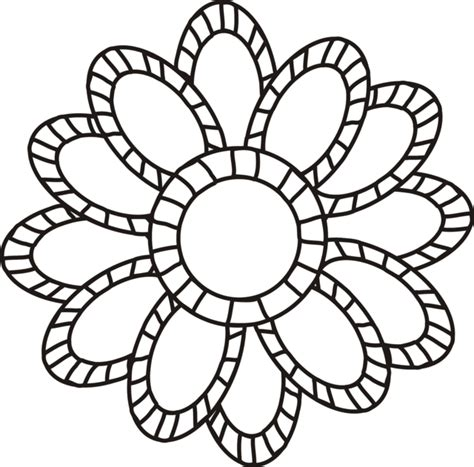 clipart of flowers coloring pages 66 free color flower clip