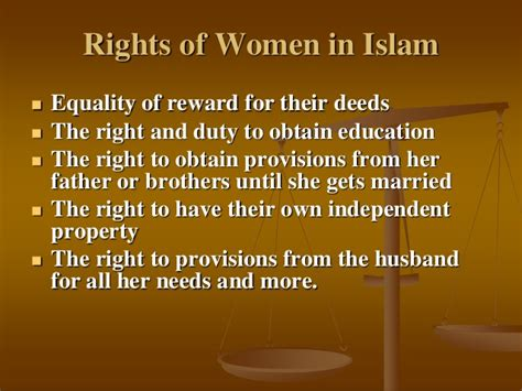 islamic bill of rights for women in the bedroom what rights does islam give to women about islam