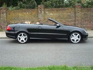 Mercedes Clk 280 2006 06 Mercedes Clk 280 Sport Obsidian Black