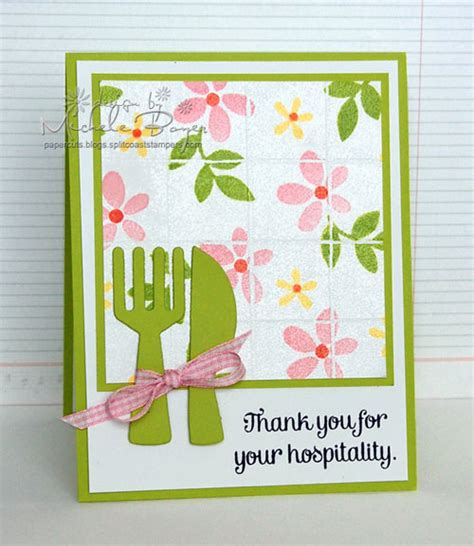 thank you for your hospitality paper cuts