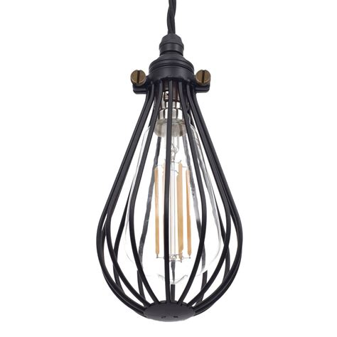 Cowley Black Pendant Light Industrial Ceiling Lighting Jim Pendant Lights