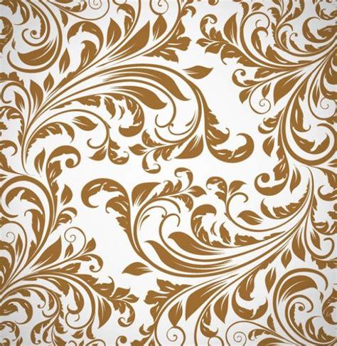vintage pattern com vintage floral pattern vector background 13283 welovesolo