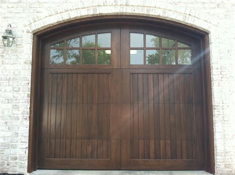 Wood Garage Doors And Carriage Doors Clearville Garage Doors