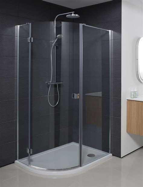 Design Quadrant Single Door Shower Enclosure in Frameless