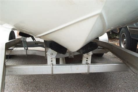 boat lift keel support trailer set up the hull truth boating and fishing forum