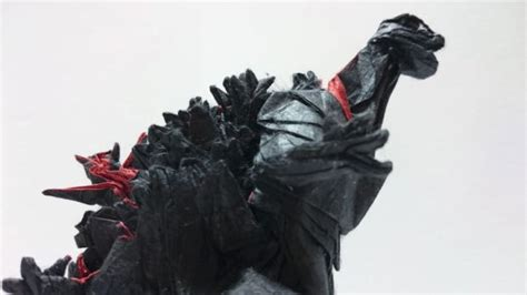 Godzilla Origami - godzilla is the king of origami technabob