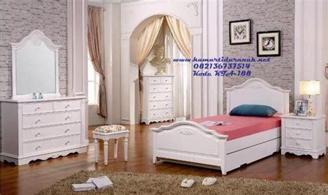 desain kamar perempuan sederhana desain set kamar tidur anak cewek klasik modern ramona