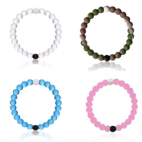 silicone jewelry 2015 pink lokai bracelet camo transparent silicone bead