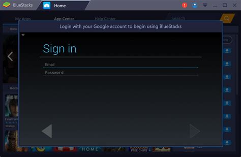 emulator android bluestacks the android emulator for pc home media portal