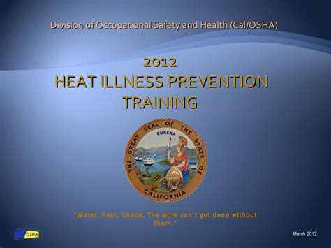 Heat And Illness Prevention Program Bingpiratebay Cal Osha Heat Illness Prevention Program Template