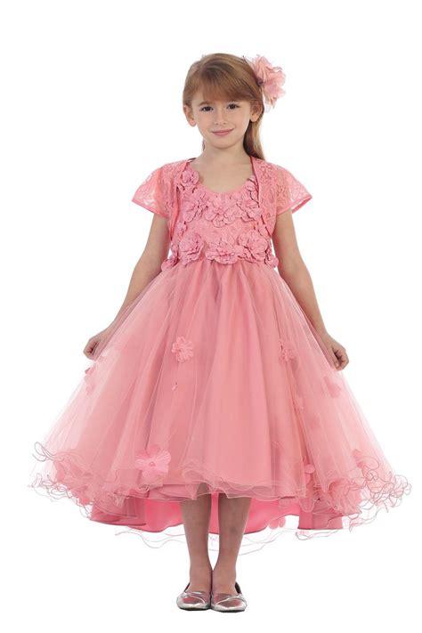 Floral Applique by Floral Applique Bolero Dress