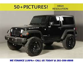 Jeep Wrangler Rubicon 2 Door 2008 Jeep Wrangler Rubicon 4x4 Hardtop Nav 18 Quot Moto Alloys