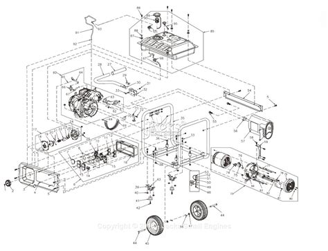 generac gp5500 parts diagram diarra