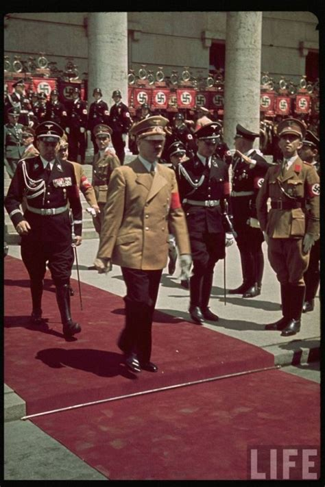 third reich color pictures waffen ss in color nazi germany color photos from life archive