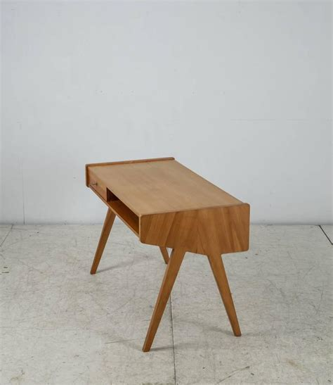 small wooden writing desk helmut magg small wooden writing desk germany 1950s at
