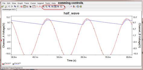 diode bridge in multisim 3 rectifiers simulation with scope instrument circuit simulation and design using multisim 1