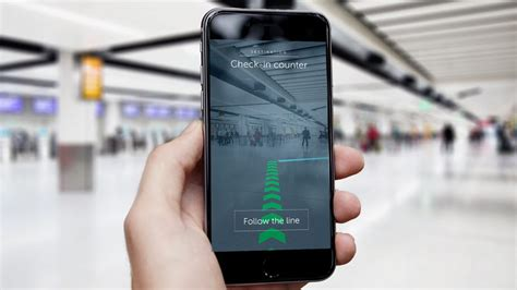 Augmented Reality by Gatwick Enables Augmented Reality Wayfinding Business