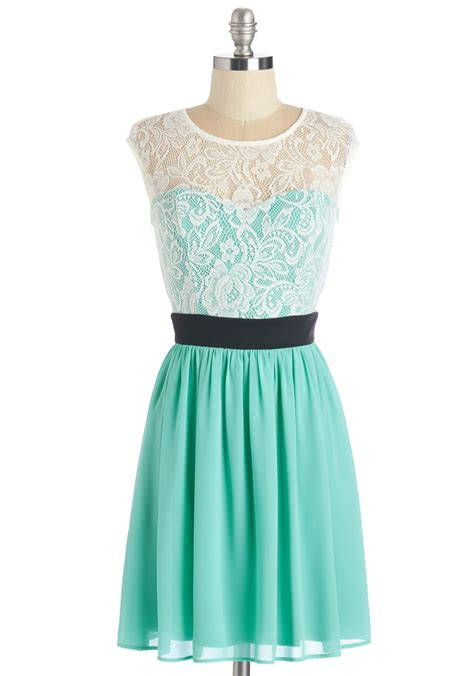 The Story The Dress by Shortcake Story Dress In Turquoise