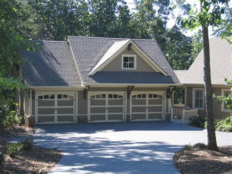 stand alone garage designs great detached rustic 3 bay garage with a large studio apartment including a kitchen and