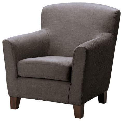 gray armchair ikea eken 196 s armchair grey brown