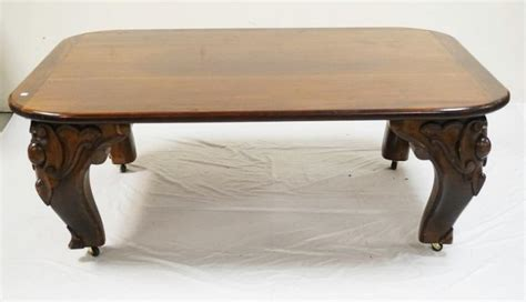 Piano Coffee Table Coffee Table With Antique Carved Piano Legs Cut 45 X