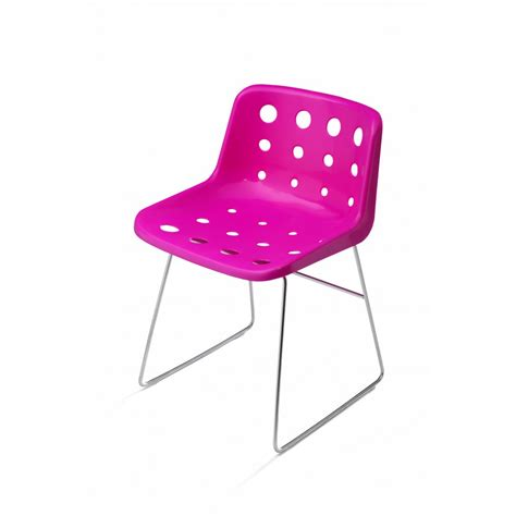 Pink Lucite Chair by Buy Bright Pink Robin Day Polo Skid Chair Robin Day Pink