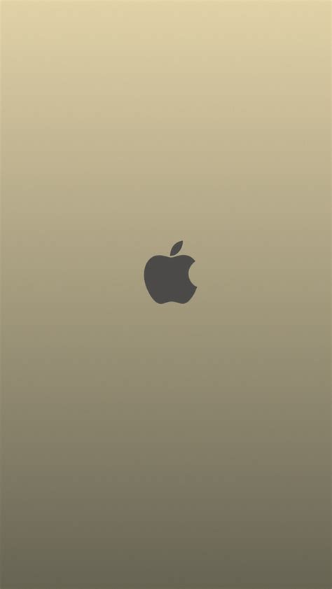 wallpaper gold iphone 4 gold apple plain the iphone wallpapers