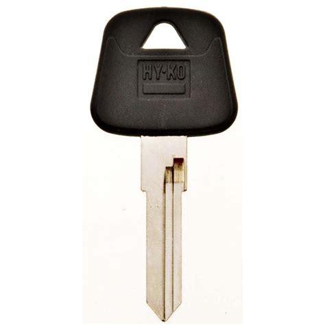 Audi Blank by Hy Ko V35 Blank Audi Rubber Key 12005v35 The Home Depot