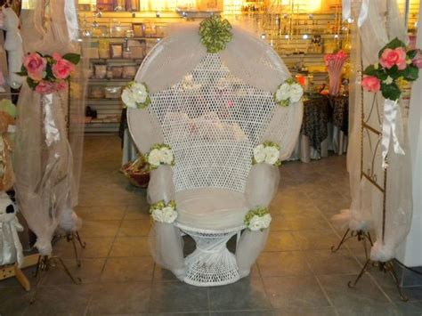 How To Decorate A Baby Shower Wicker Chair by 21 Best Images About Wicker Chair Decoration Ideas On