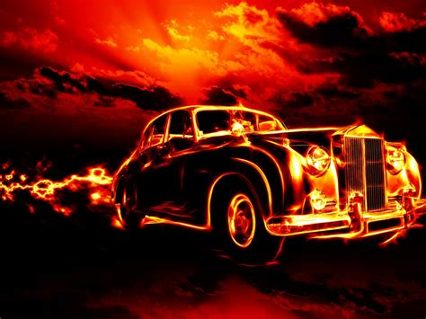 fire classic car hd wallpapers  desktop