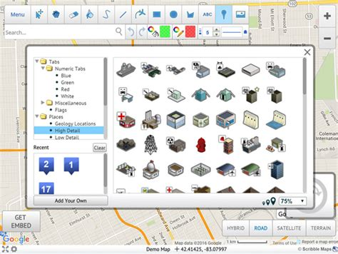software map drawing free draw on maps and make them easily