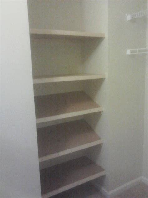 Custom Closet Shoe Shelves by Custom Closet Shelves And Shoe Rack From General Repairs